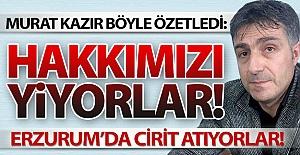 Kim bu Erzurum#039;daki kural tanımazlar!..