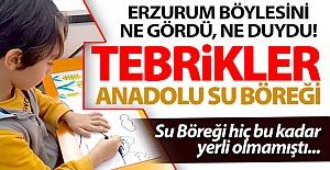 Tebrikler Anadolu Su Böreği!..