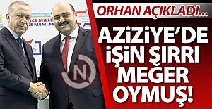 Başkan Orhan işin sırrını açıkladı!..