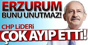 CHP Lideri çok ayıp etti!..