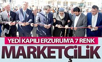 Yedi kapılı Erzurum'a yedi renkli...