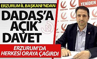 Erzurum'a açık davet!
