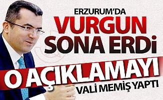 Erzurum'da vurgun sona erdi!