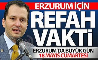Erzurum için REFAH VAKTİ
