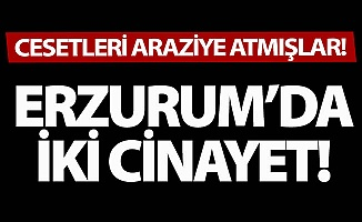 Erzurum'da iki cinayet!