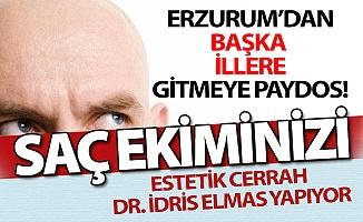 Erzurum'da kellik artık hiç sorun değil!
