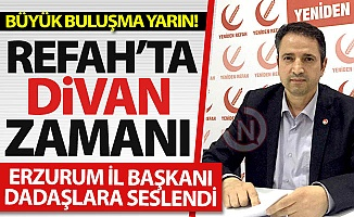 Erzurum'da bir büyük buluşma daha!