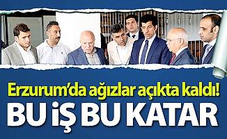 Erzurum'da bu iş bu Katar!
