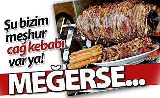 Erzurum Cağ kebabı meğerse...