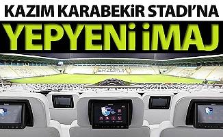 Kazım Karabekir Stadı'na yepyeni imaj