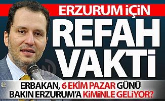 Bakın Erzurum'a kiminle geliyor?