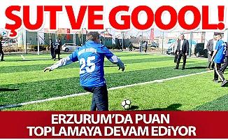 Erzurum'da puanları o topluyor!