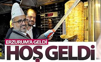 Erzurum'a geldi, hoş geldi!..