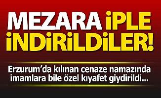 Erzurum'da toprağa verildiler