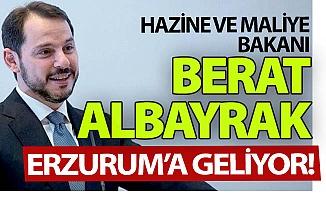 Albayrak Erzurum'a geliyor!