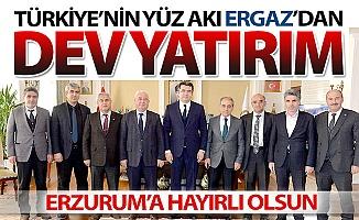ERGAZ'dan Erzurum'a dev yatırım!