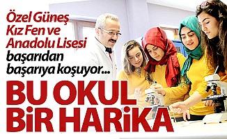 Erzurum'da eğitime doğan güneş...