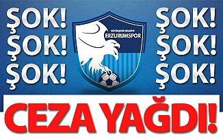 Erzurumspor'a ceza üstüne ceza!