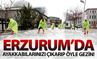 Erzurum'da gezinirken lütfen dikkat!