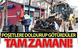 Erzurum'da hiç zaman kaybetmediler!