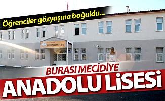 Burası Mecidiye Anadolu Lisesi!