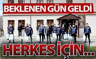 Erzurum'da beklenen gün geldi!
