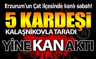 Erzurum'da katliam gibi cinayet!