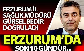 Erzurum'da son 10 gündür...