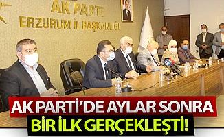 AK Parti'de bir ilk gerçekleşti!