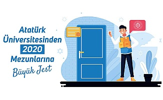 Atatürk Üniversitesi'nden büyük jest!