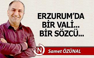 Erzurum'da bir Vali... Bir Sözcü...
