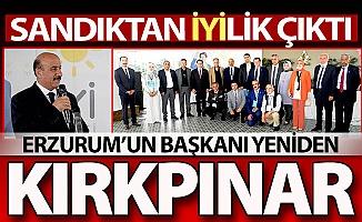 Erzurum'da başkan yeniden Kırkpınar...