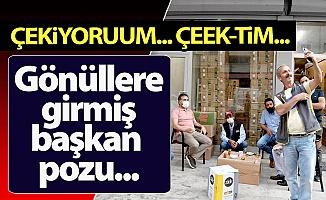 Erzurum'da gönüllerin başkanı oldu