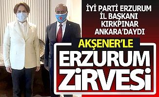 Erzurum için İYİ'lik buluşması...