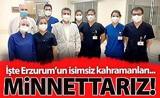 İşte Erzurum'un isimsiz kahramanları...