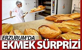 Erzurum'da ekmek sürprizi!