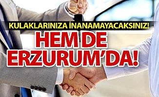 Hem de Erzurum'da!,,