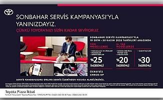 TOYOTA'DAN SONBAHAR SERVİS KAMPANYASI
