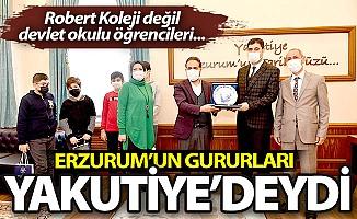 Erzurum'un gururları Yakutiye'deydi...