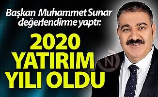 Başkan Sunar'dan 2020 değerlendirmesi