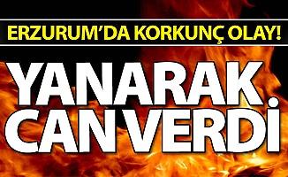 Erzurum'da korkunç olay!