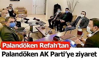Palandöken'de Refah-AK Parti buluşması