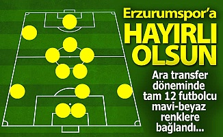 Erzurumspor'a hayırlı olsun!