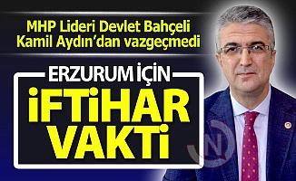 MHP Lideri Bahçeli, Aydın'dan vazgeçmedi