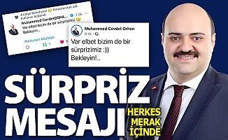 Başkan Orhan'dan sürpriz paylaşım!