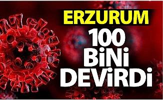Erzurum 100 bini devirdi!