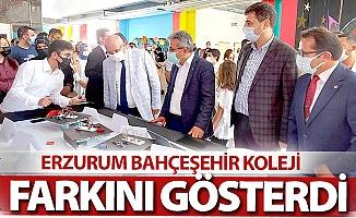 Erzurum Bahçeşehir farkını gösterdi