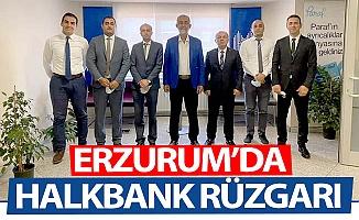 Erzurum'da Halkbank rüzgarı