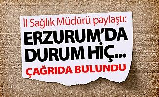 Erzurum'da durum hiç...