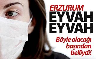 Erzurum'da korkulan oldu!